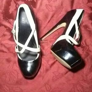 🌺MADONNA TRUTH OR DARE PATENT LEATHER PLATFORMS🌺